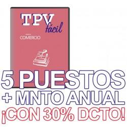 TPVFÁCIL COMERCIO+MNTO, 5...