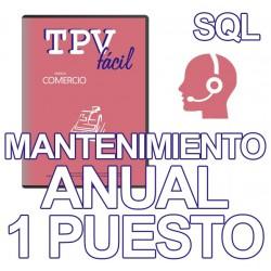 Mnto TPVFÁCIL COMERCIO SQL,...