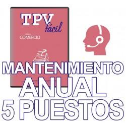 Mnto TPVFÁCIL COMERCIO, 5...