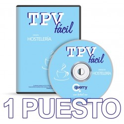 TPVFÁCIL HOSTELERÍA, 1 puesto
