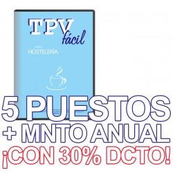 TPVFÁCIL HOSTELERÍA+MNTO, 5...