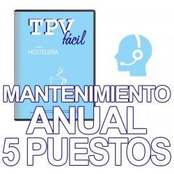 Mnto TPVFÁCIL HOSTELERÍA, 5...