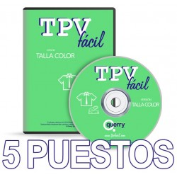TPVFÁCIL Talla Color, 5...