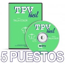 TPVFÁCIL Talla Color, 5...