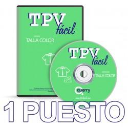 TPVFÁCIL Talla Color, 1 puesto