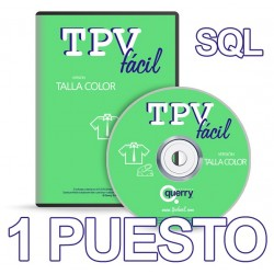 TPVFÁCIL Talla Color SQL, 1...