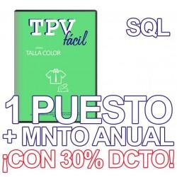TPVFÁCIL Talla Color+MTO...