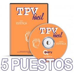 TPVFÁCIL ESTÉTICA, 5 puestos