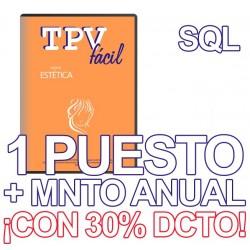 TPVFÁCIL ESTÉTICA+MNTO SQL,...