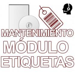 Mnto MÓDULO ETIQUETAS, 1...