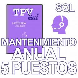 Mnto TPVFÁCIL HOST AVA SQL,...