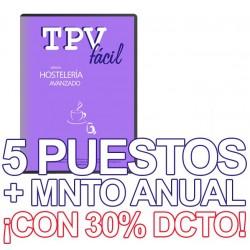 TPVFÁCIL HOST AVA+MTO, 5...